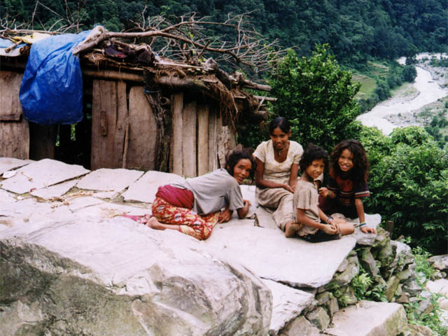 People from Ghandruk Village
